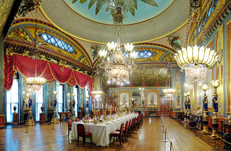 Dining Room on Brighton Pavilion Dining Room